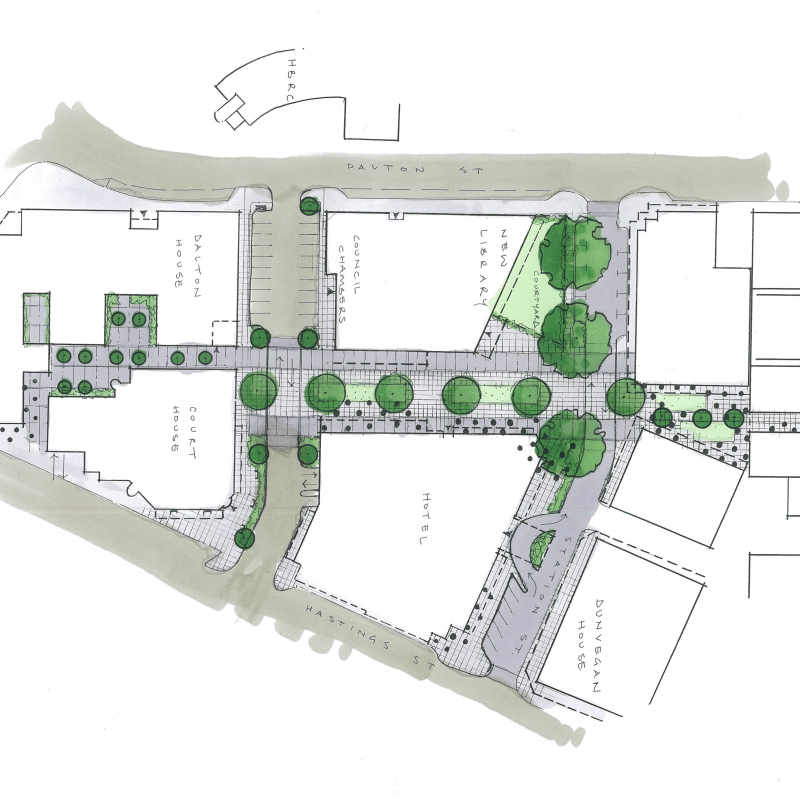 Napier library and council chambers options being considered