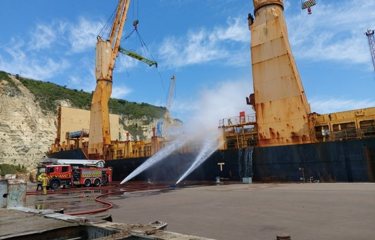 Napier Port ship fire ruled accidental, cause revealed
