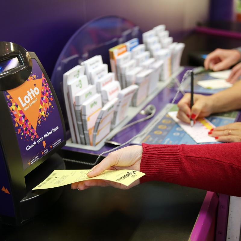 Napier ticket wins $111,000 Lotto prize