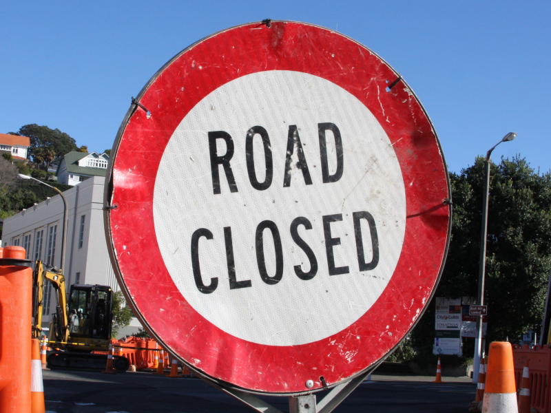 Napier-Wairoa road closed at Putorino due to slip