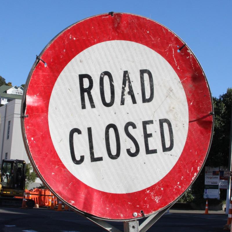 Napier-Wairoa road closed at Putorino due to slip