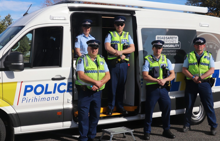 New Mobile Road Safety Bases replace decades-old 'Booze Bus'