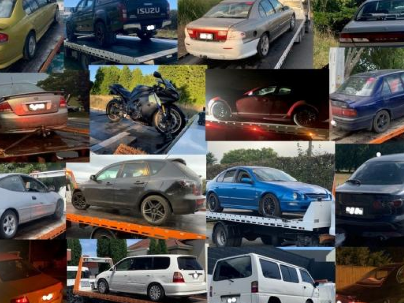 """""""No tolerance"""" for anti-social drivers leads to 133 cars disposed of in six months"""