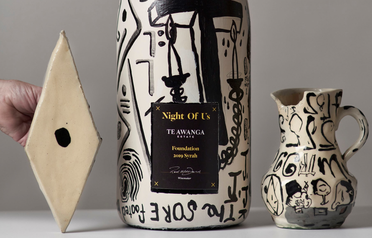 One-off art bottles unveiled ahead of charity auction