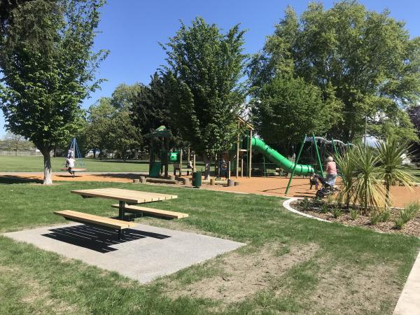 Opening celebrations for Ebbett Park playground.