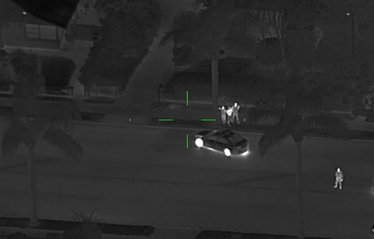 Police Eagle helicopter assists in arrest of Napier man in Auckland