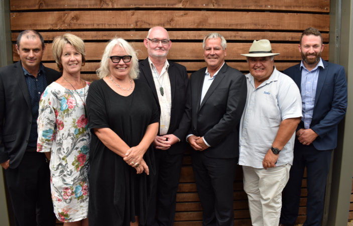 Pōwhiri marks launch of Food and Fibre CoVE