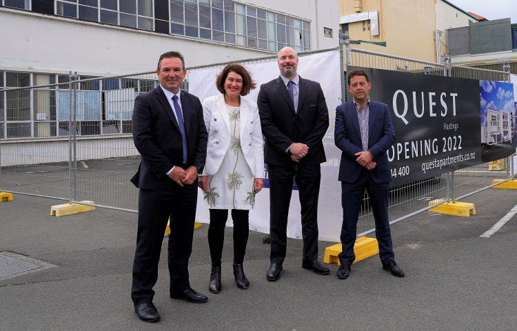 Hastings' Quest Hotel one step closer to reality with start of site works