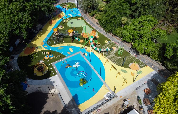 Revamped Cornwall Park playground in Hastings opens next weekend