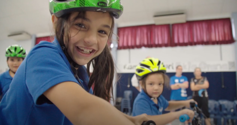 Riding for health at Irongate School