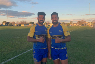 Rugby brothers midfield combo split
