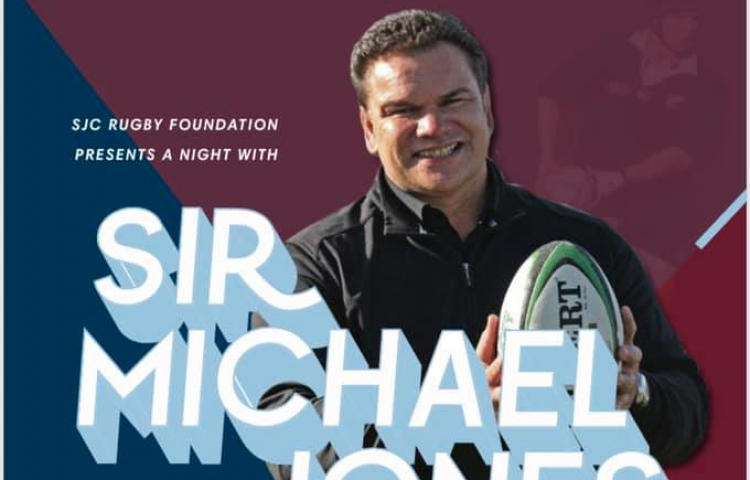 Rugby great to speak at St. John's College Rugby Foundation fundraiser