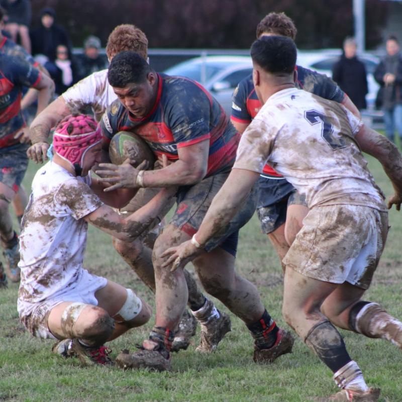 Rugby prop's unbeaten run under threat