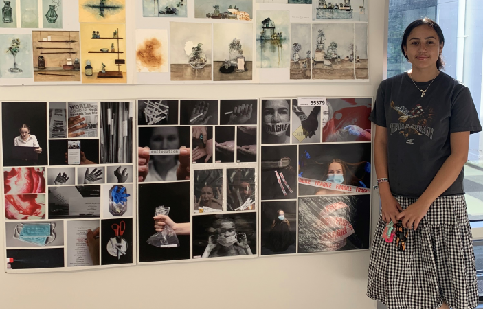 Sacred Heart College student's artwork featured in national exhibition