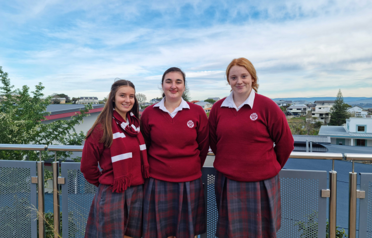 Sacred Heart College students recognised for service to the community