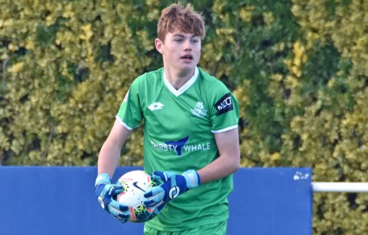 Sixteen-year-old earns Rovers No 1 keeper's role