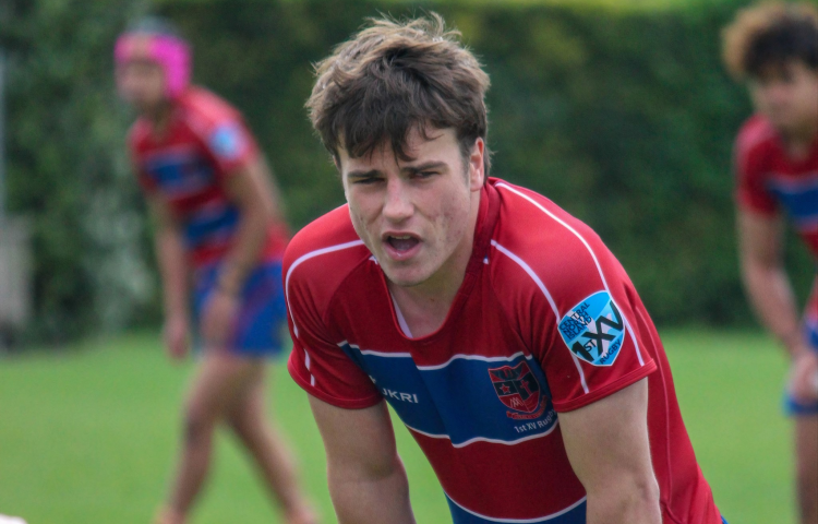 St. John's College student has rugby career firmly in sight