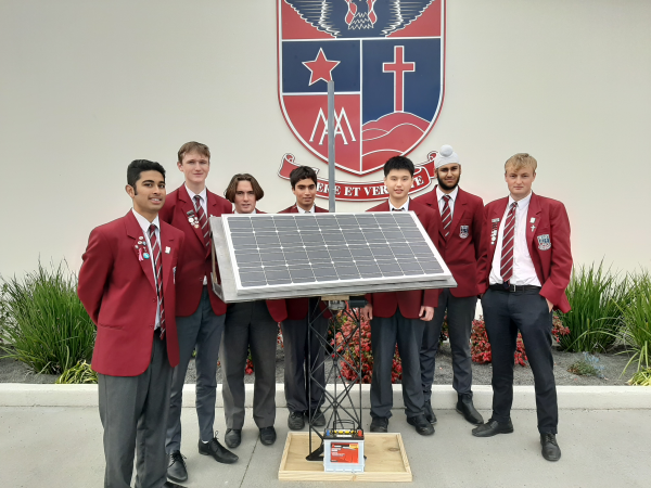 St. John's College students bring light to darkness with high-tech device