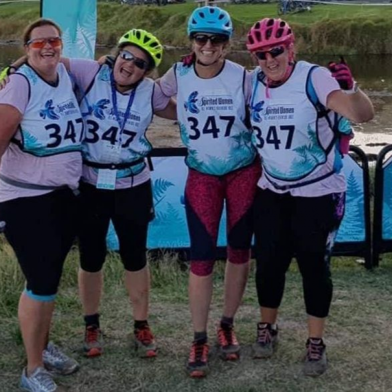 Taking on the challenge of the Spirited Women adventure race