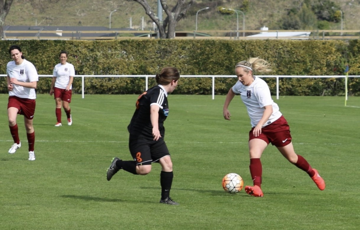 Taradale Women's Federation Cup footballers post victory