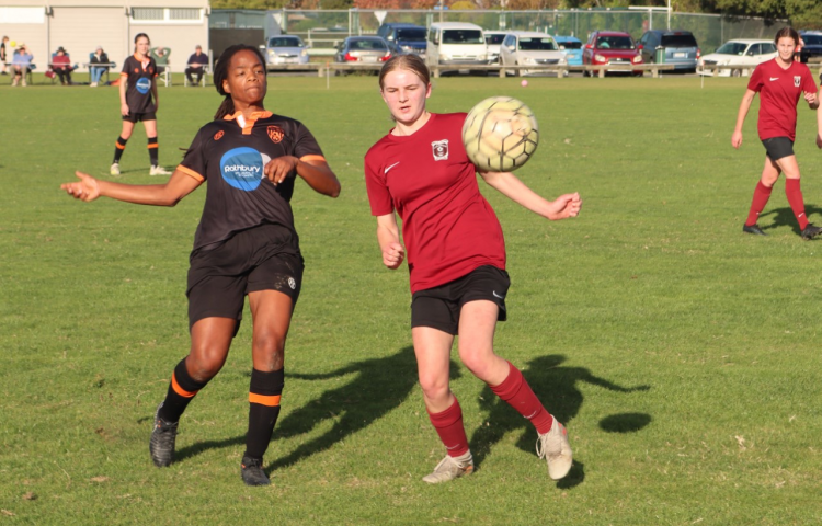 Taradale's women footballers take two wins from Porthill