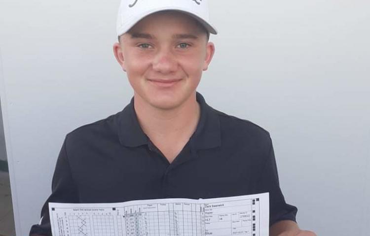 Teen equals Napier Golf Club record