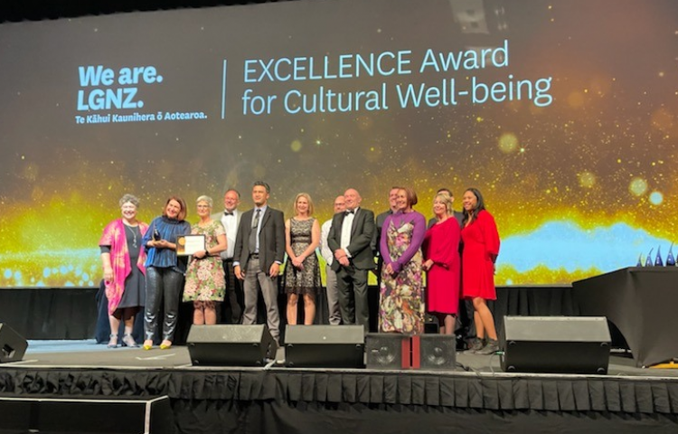 Triple honours for Hastings District Council in LGNZ awards