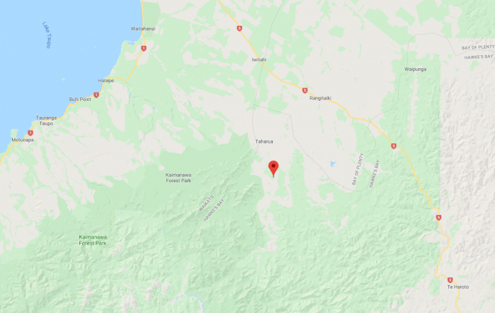 Two people injured in helicopter crash near Napier-Taupo highway