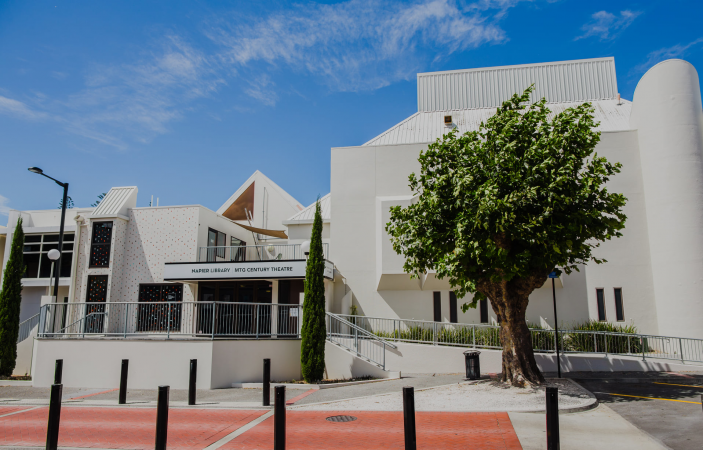 Urgent remedial work on Napier Library complete, building set to re-open
