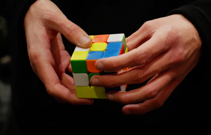 VIDEO: Competitive speedcubing came to Napier, with a record breaking time set.