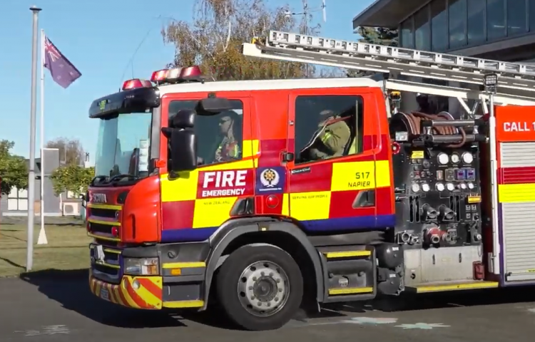 VIDEO: Fire and Emergency Hawke's Bay celebrate International Firefighters' Day