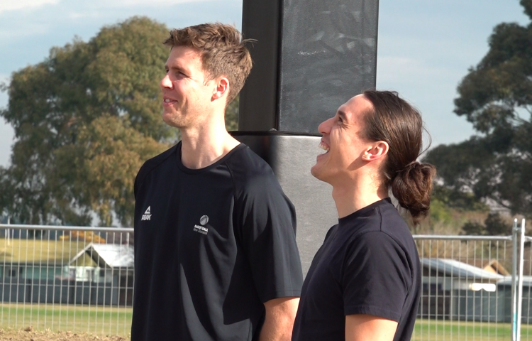 VIDEO: Flaxmere aims to grow Tall Blacks with new basketball court