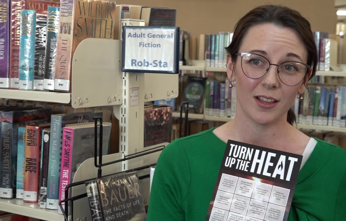 VIDEO: Hastings District Libraries turn up the heat with reading challenge