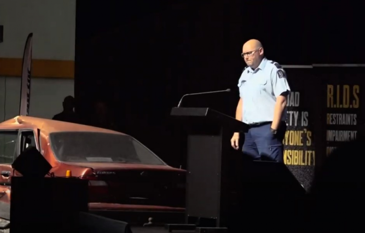 Video: Hawke's Bay Youth Road Safety Expo instills important message in future drivers