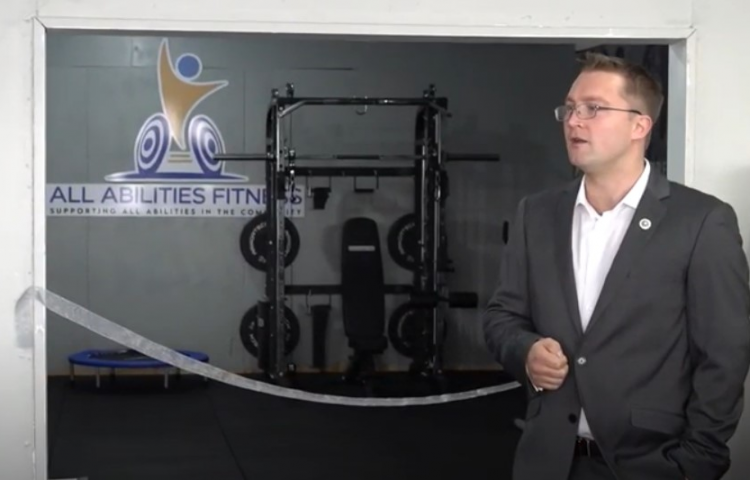 VIDEO: Vision comes to life with free community gym in Hastings