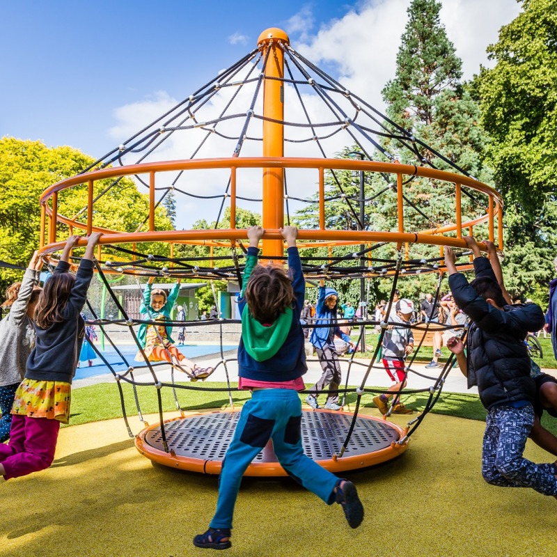 Visit playgrounds for Parks Week, and be in to win prizes