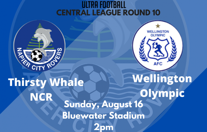 Watch Live: Napier City Rovers vs Wellington Olympic LIVE at 2pm