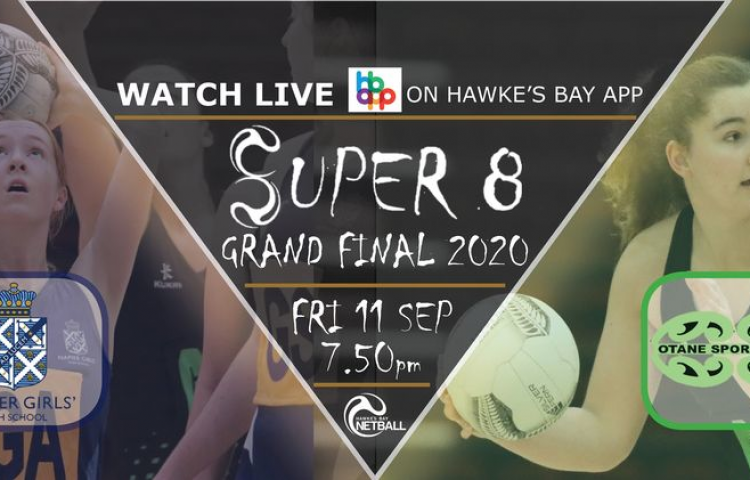 Watch Live: Otane Netball: Thirsty Whale vs Napier Girls High School: Senior A from 7:50pm