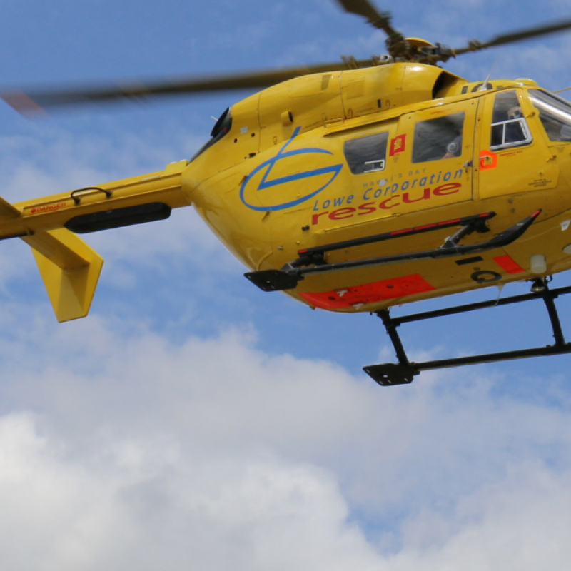 Week of variety for rescue helicopter crew