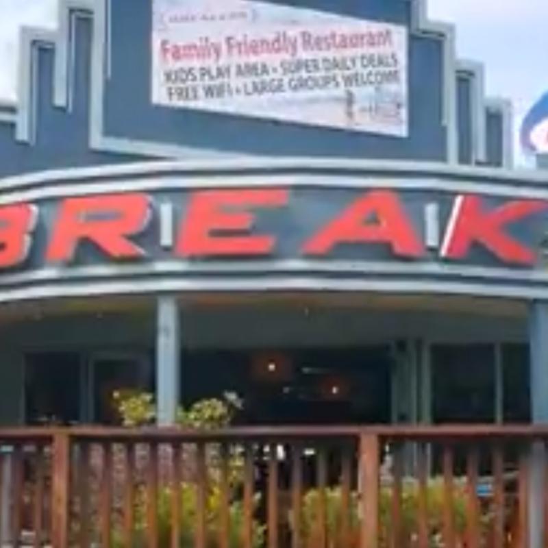 Win one of three $50 Breakers Restaurants vouchers