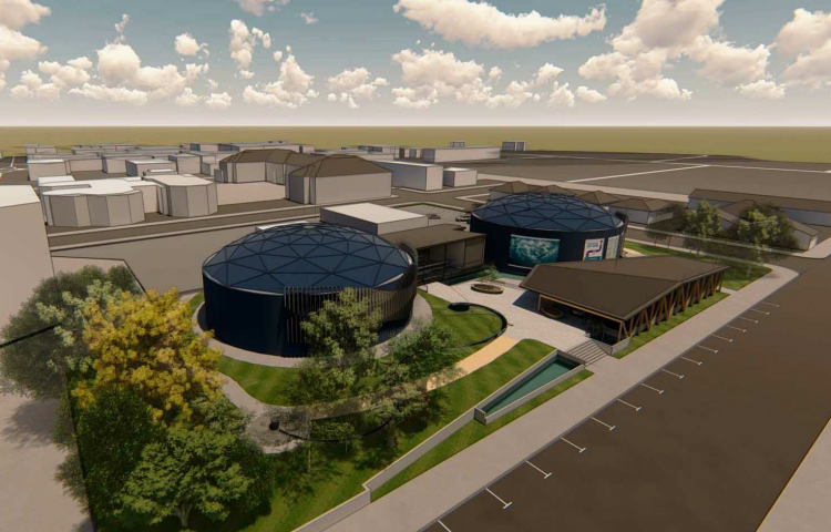 Work starts on multi-million dollar water treatment, storage and education facility 'Waiaroha'