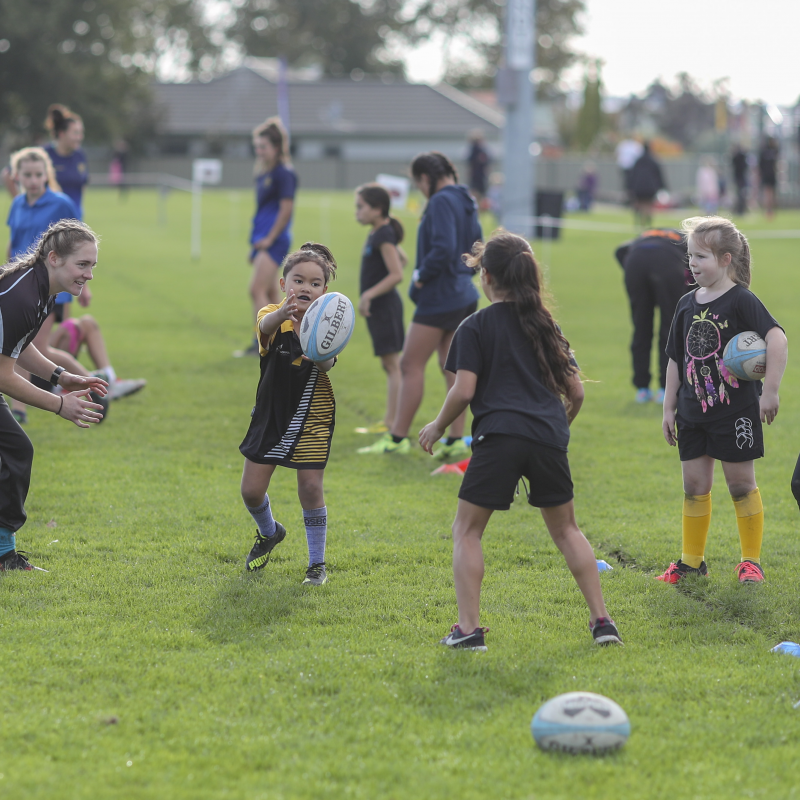 World Cup winning Black Ferns to attend Unison Girls' Rugby Gala Day