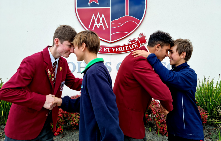 Younger boys experience St. John's College